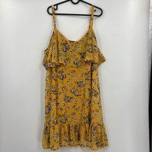 Torrid Floral Sleeveless Midi Flowing Dress